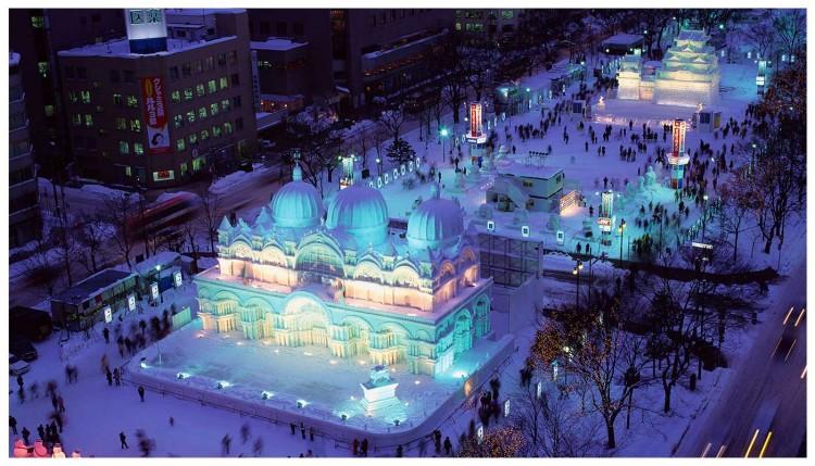 "Lễ hội tuyết ""Yuki Matsuri"""